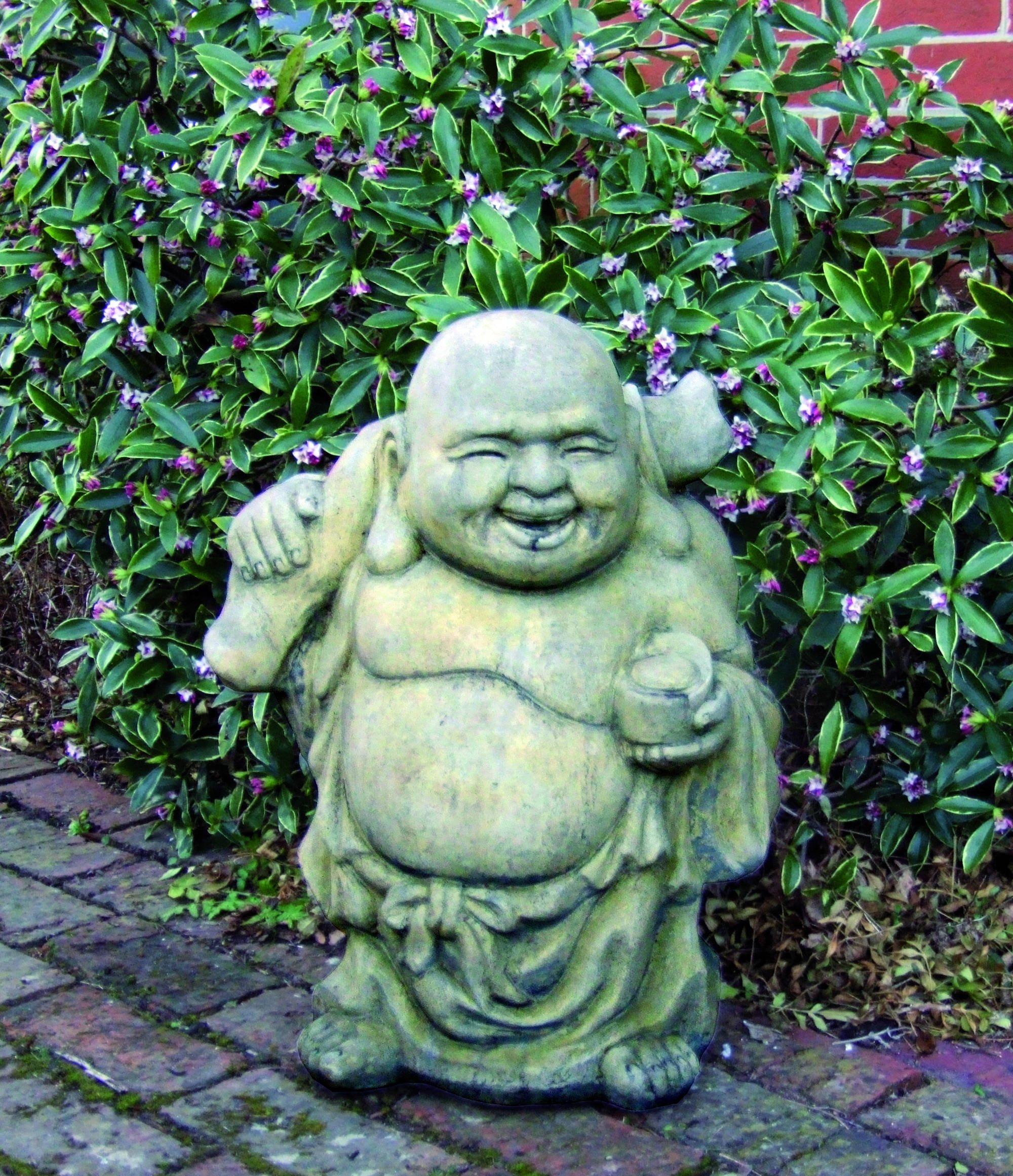 Large Travelling Buddha Statue Garden Ornamnents