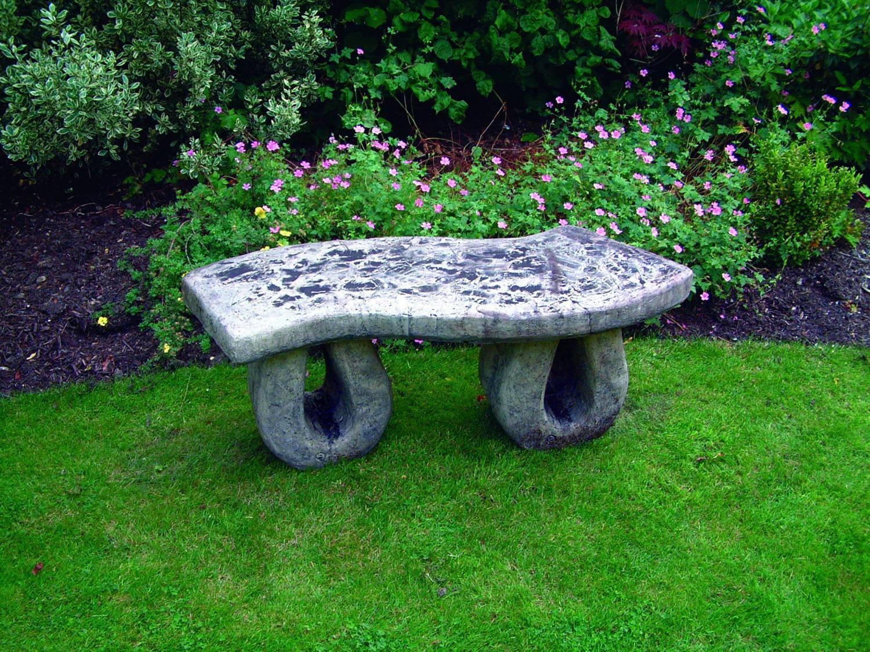 Wealdon Stone Garden Bench Garden Ornamnents