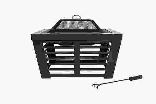 Elda Steel Firepit with Grill