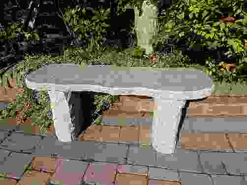 Worchester Pink Granite Garden Bench