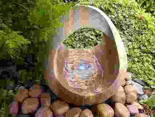 Babbling Basket Rainbow Sandstone Water Feature
