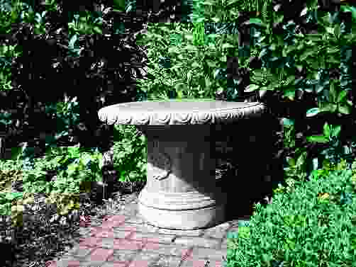 Laurel Stone Garden Table