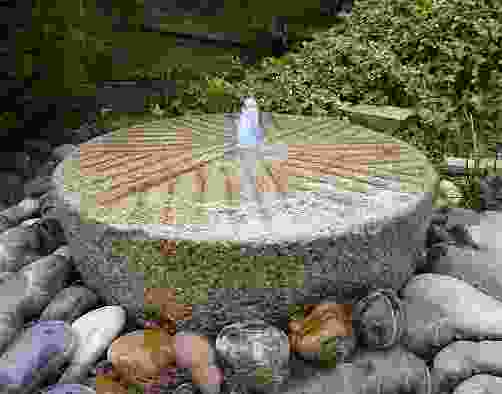 Old Stone Mill Water Feature