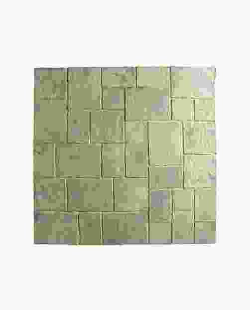 Minster 5.76m Random Paving Kit in Rustic Sage