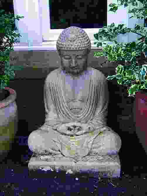 Seated Meditating Buddha Statue