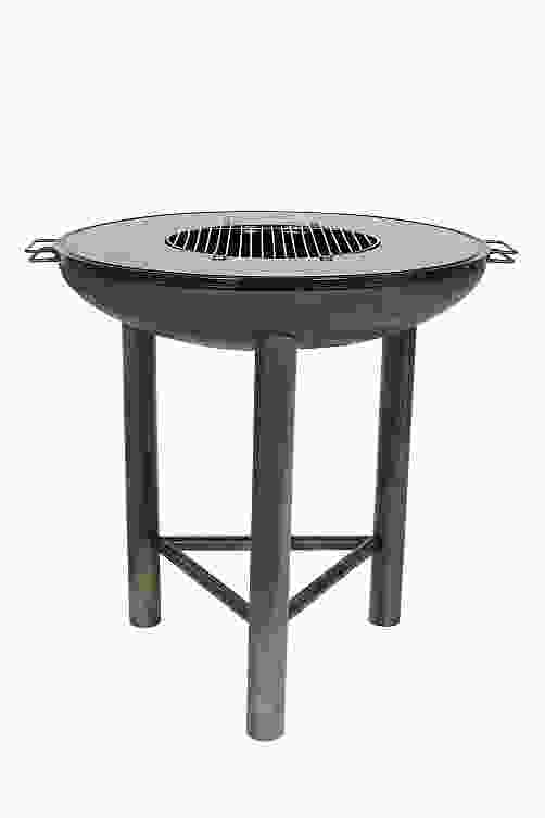Pittsburgh Steel Firepit with Plancha Plate